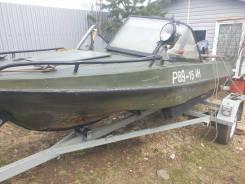 Продам лодку Обь - М