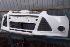 Бампер передний ford focus 3 (бу оригинал под ремонт)