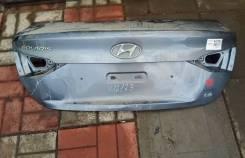 Крышка багажника хендай солярис 2
