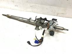 Рулевая колонка + ключ на Subaru Forester SG5 #22 [Пробег 147 тысяч]
