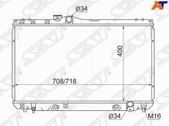 Радиатор Toyota Markii / Chaser / Cresta #X90 2,0-3,0 92-96