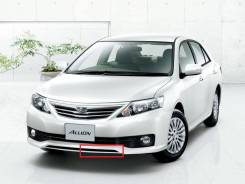 Накладка на бампер Левая Toyota Allion (T260) 1010-2016 год Оригинал