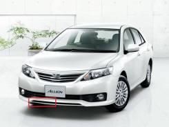 Накладка на бампер Правый Toyota Allion (T260) 1010-2016 год Оригинал
