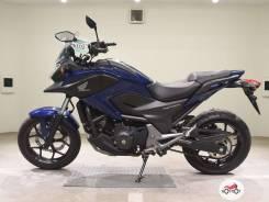Мотоцикл Honda NC 750X 2015, Синий пробег 27737
