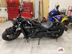 Мотоцикл Indian Scout 2018, Черный