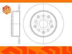 Диск тормозной G-Brake GR01607 задний