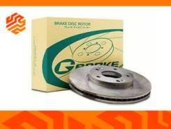Диск тормозной перфорированный G-Brake GFR02451R правый передний