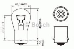 Лампа P21W BA15s Bosch 1987302201