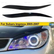 Реснички на фары для Subaru Impreza GD 2005-2007