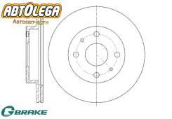 Диск тормозной G-brake Toyota Duet Passo C1# 3# Daihatsu YRV Move Mira