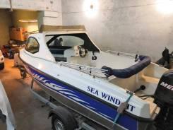 Алюминиевый катер Gladius Sea Wind 520