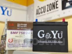 Аккумулятор G-Yu SMF 75B24L гарантия 5 лет