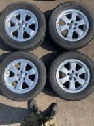 195/65R15 с минимальным износом на оригинальном литье Тойота