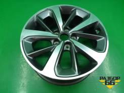Диск колёсный литой R18 EJ7,5 5x114.3 ET49,5 Ц. О.67,1 (52910C5610) Kia Sorento Prime с 2014г Киа