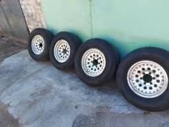 Продам колеса 265/70/16 диски 6х139.7 вылет -7 жирные шины Япония