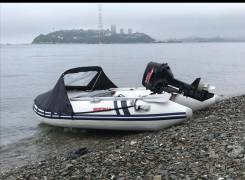 Продам лодку ПВХ Suzumar 290. Тент. Транс колеса. Без мотора.
