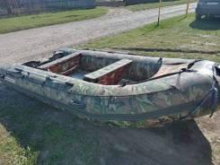 Лодка надувная nissamaran 420 с двигателем