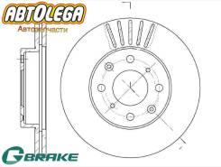 Диск тормозной пер. G-brake Honda Civic II Shuttle E# Civic IV V CRX