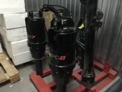 Гидробур (гидровращатель) PD8 на New Holland B80 B/ B90 B