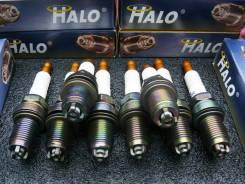 Уникальный Комплект Свечей зажигания HALO=BKR7EIX, IK22, (8 шт) (Видео)