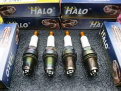 Уникальный Комплект Свечей зажигания HALO=BKR7EIX, IK22, (4 шт) (Видео)