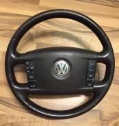 Руль в сборе (коричневый) VW Touareg 2002-2010