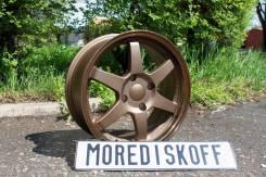 More_Diskoff* стильные Bronze RAYS TE37 R16 4х114.3 * Отправлю