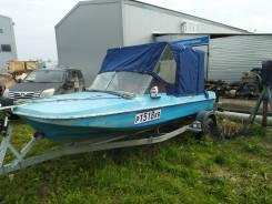 Продам моторную лодку Обь-3м