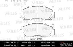Колодки тормозные передние Honda HR-V, Accord 91-98/CR-V 95-02