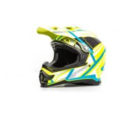 Шлем Мото кроссовый Hizer B6196 #1 yellow