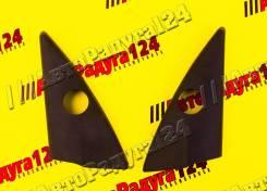 Облицовка зеркала уголок ВАЗ 1118 внутренняя с отверстием (комплект)