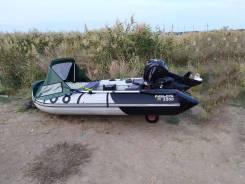 Лодка пвх ривьера 3200 + hidea 9.8