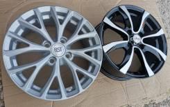 Новые литые диски на Kia Rio, Hyundai Solaris R15