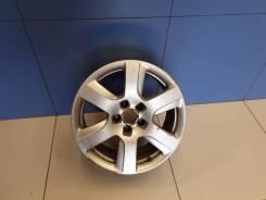 Диск колесный алюминиевый R17 Audi A6 S6 C7 2011-2018 [4G0601025BK]