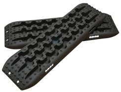 Сэнд-траки (Sand Track) пластиковые усиленные до 10 тонн 110х35 см черные (комплект 2 шт. )