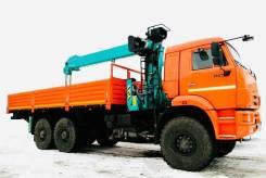 Бортовой Камаз-65222 бортовая платформа кму манипулятор 20т 6х6