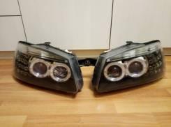 Тюнингованные фары Hyundai Accent Тагаз 2008г 1.5L (Eagle Eyes)