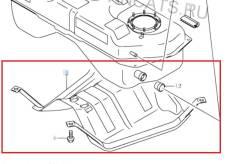 Защита бензобака Suzuki Escudo TDA4W J24B 68.000км. Отправка в регионы