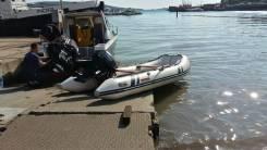 Лодка резиновая с мотором