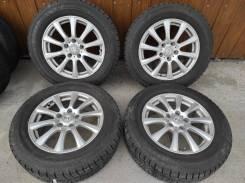 Комплект литых колес Weds 215/60R-16 с , зимней резиной Yokohama