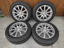 Комплект литых колес Weds 195/60R-16 с , зимней резиной Yokohama