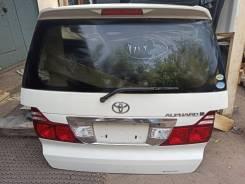 Дверь задняя с камерой Toyota Alphard ANH15 2005 рестайлинг 042