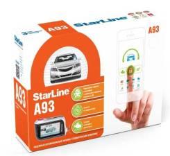Автосигнализация для авто, StarLine A93, 2 пульта