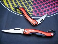 Нож складной с карабином YATO YT76050