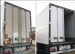 Ремонт фургона будки ворот полуприцепы
