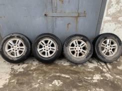 4 колеса, зимние шипованные, Dunlop Grandtrek Ice 02