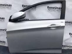 Дверь передняя левая Hyundai Solaris 1 в сборе
