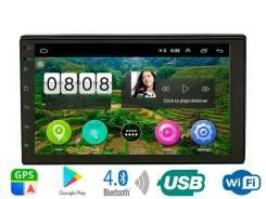 Carmedia HТ- 7017 Универсальная 2,5 D, IPS 2DIN 100х178мм, Android 9.1