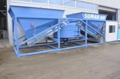 Мобильный бетонный завод Sumab K-60 РБУ БСУ