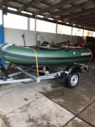 Продам моторную лодку Solar 350 двигатель Suzuki 9.9
